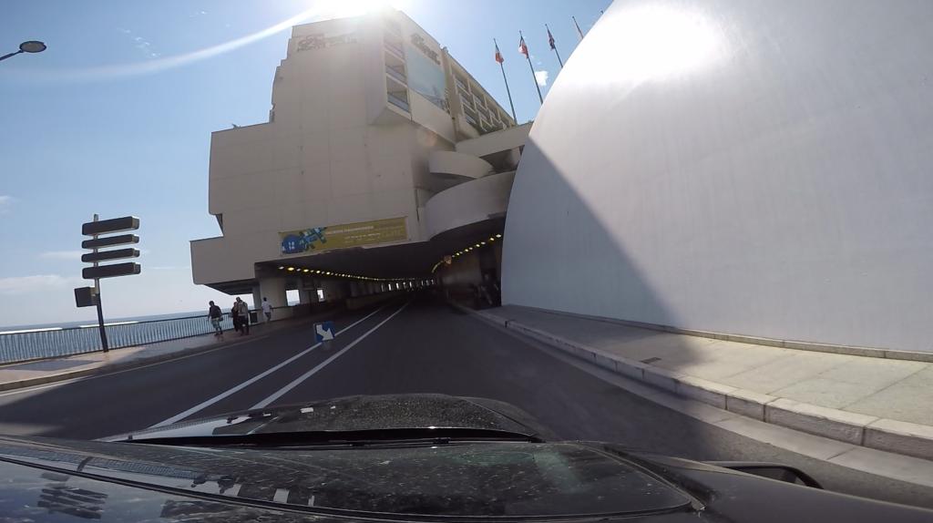 Monaco - tunel