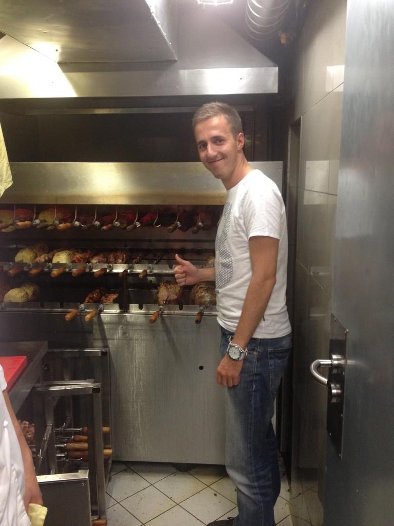 Ambiente Brasileiro Praha - v kuchyni